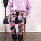 Little & Lively Leggings - Cactus Floral
