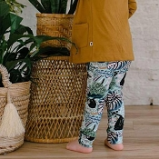 Little & Lively Leggings - Chill Sloth