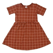 Little & Lively Daphne Dress - Grid