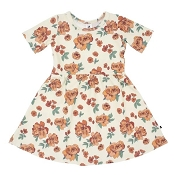 Little & Lively Daphne Dress - Peony