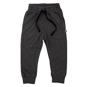 Little & Lively Drawstring Joggers - Charcoal