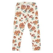 Little & Lively Bamboo/Cotton Leggings - Peony