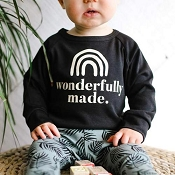 Little & Lively Wonderfully Made Pullover