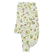 Loulou Lollipop  Luxe Muslin Swaddle  - Eat Your Veggies