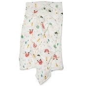 Loulou Lollipop  Luxe Muslin Swaddle  - Farm Animals