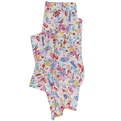 Loulou Lollipop Luxe Muslin Swaddle - Light Field Flowers