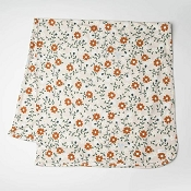 *Loulou Lollipop Stretch Knit Blanket in TENCEL - Flower Vine