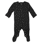 L'ovedbaby Organic Graphic Footie - Confetti *CLEARANCE*