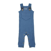 L'ovedbaby Footless Ribbed Overall - Sky