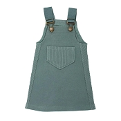 L'ovedbaby Kids' Ribbed Tank Dress - Jade