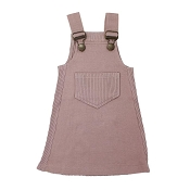 L'ovedbaby Kids' Ribbed Tank Dress - Thistle