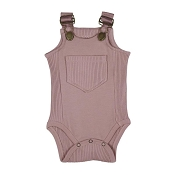 L'ovedbaby Ribbed Bodysuit - Thistle