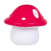 *A Little Lovely Company Little Light Red Mushroom
