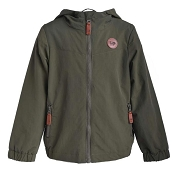 L&P Apparel Mid-Season Outerwear Jacket Lined in Polar Fleece - Camo Green *CLEARANCE*
