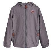 L&P Apparel Mid-Season Outerwear Jacket Lined in Polar Fleece - Charcoal