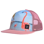 L&P Trucker Snapback Cap - Flamingo