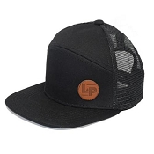 L&P Snapback Hat - Orleans - All Black