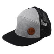 L&P Snapback Hat - Orleans - Black & Grey