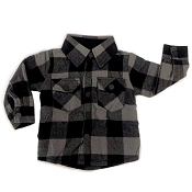 Little Bipsy Collection Fully Lined Buffalo Plaid Flannel - Rainier