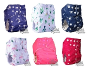 La Petite Ourse One-Size Pocket Cloth Diaper 6-Pack *cannot ship this product to USA*