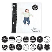 Lulujo Milestone Blanket & Cards Set