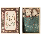 *Maileg Baby Mice Twins in Box