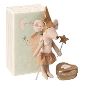 *Maileg Tooth Fairy, Big Sister Mouse w/ Metal Tin
