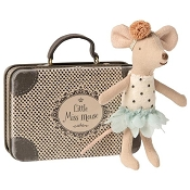 *Maileg Little Miss Mouse in a Suitcase - Little Sister Mouse