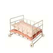 *Maileg Micro Metal Baby Cot
