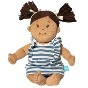 *Manhattan Toy Company Baby Stella Beige Doll with Brown Hair