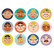 *Mahattan Toys Making Faces Memory Game