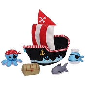 *Manhattan Toy Company Pirate Ship Floating Fill n Spill