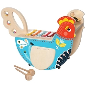 *Manhattan Toy Company Rocking Musical Chicken