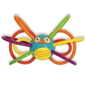 *Manhattan Toy Company Zoo Winkel Owl Teether