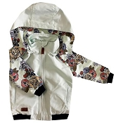 L&P Apparel Urban Style Jacket - Floral Mint