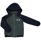 L&P Apparel Urban Style Jacket - Green Camo & Black