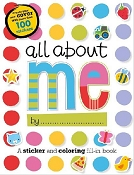 *All About Me Preschool Activity Book