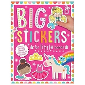 *Big Stickers for Little Hands Activity Book - Pink