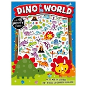*Dino World Sticker Book