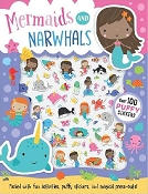 *Mermaids and Narwhals Puffy Sticker Activity Book