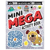 *Mini Mega Activity Book - Silver