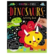 *Scratch & Sparkle - Dinosaurs Activity Book