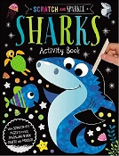 *Scratch & Sparkle - Sharks Activity Book