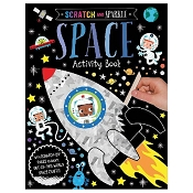 *Scratch & Sparkle - Space Activity Book