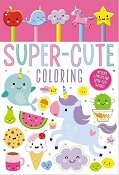 *Super-Cute Colouring Pad