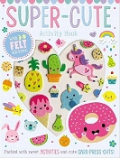 *Super-Cute Sticker Activity Book