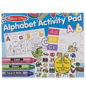 *Melissa & Doug Alphabet Activity Pad