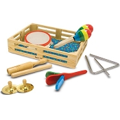 *Melissa & Doug Band-in-a-Box - Clap! Clang! Tap!