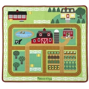 *Melissa & Doug Round the Barnyard Farm Rug