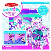 *Melissa & Doug Created by Me! Flower Fleece Pillow